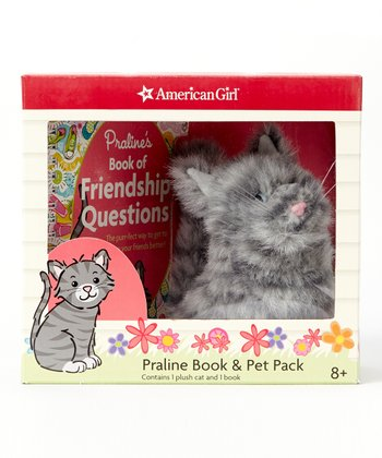 Praline's Book of Friendship Questions Paperback & Plush Toy Set