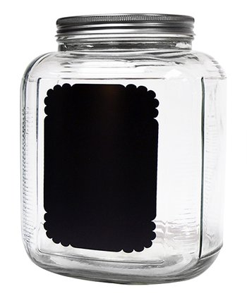Chalkboard 148-Oz. Storage Jar