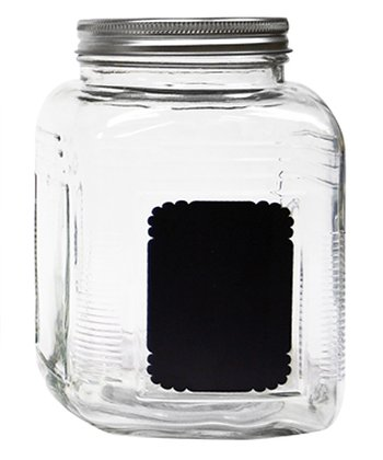 Chalkboard 67-Oz. Storage Jar