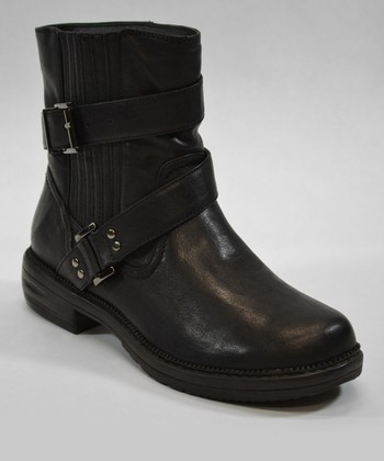 Black Santa Fe Boot - Women