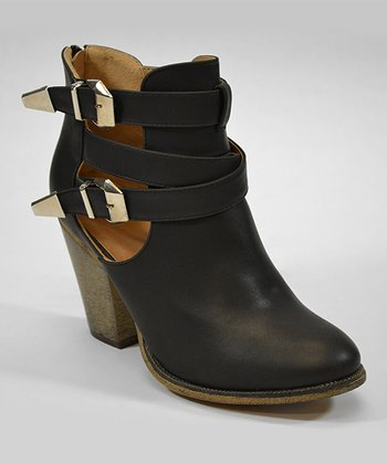 Black Orlando Ankle Boot