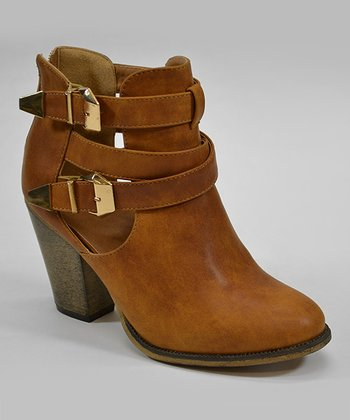 Tan Orlando Ankle Boot