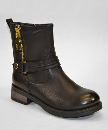 Black Dallas Boot