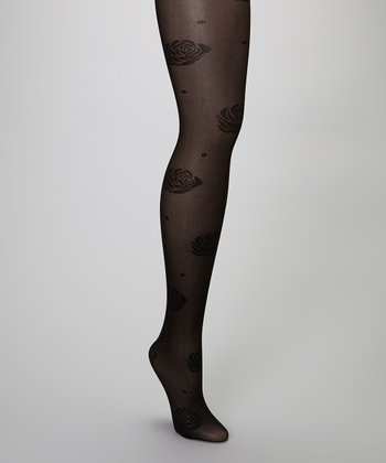 Black Rose Tights