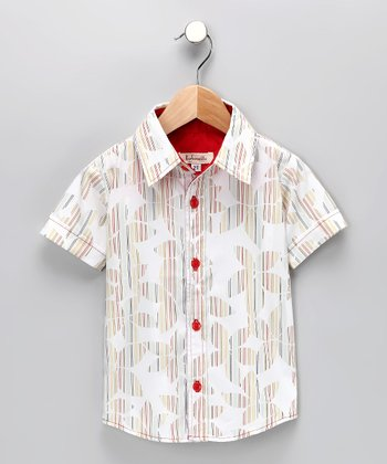 Hawaiian Button-Up Shirt - Infant, Toddler & Boys
