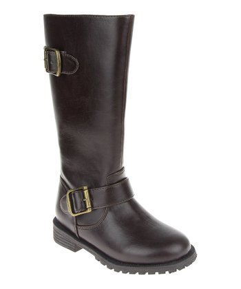 Brown Little Riding Boot