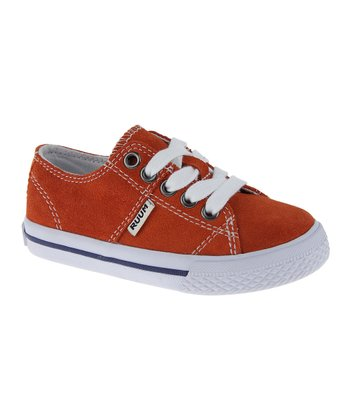 Burnt Orange Suede Sneaker