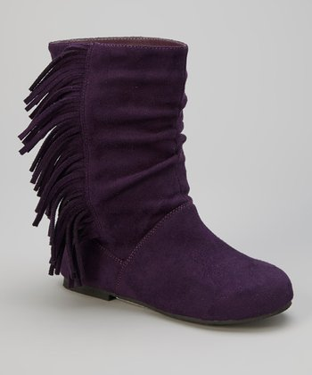 Purple Hobby Boot