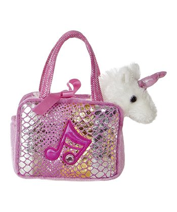 Pink Shimmery Pet Carrier