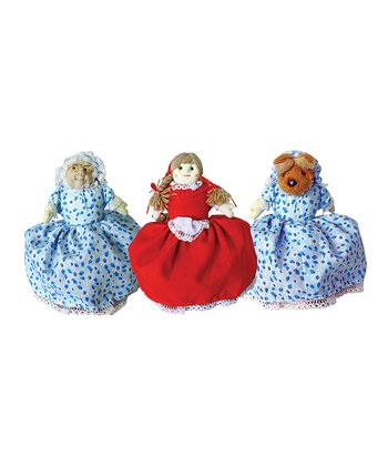 Reversible Red Riding Hood Doll
