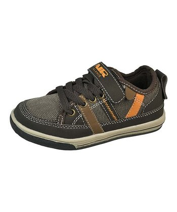Brown & Citrus Sporty Sneaker