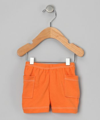 Marigold Pocket Organic Shorts - Infant, Toddler & Boys