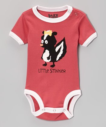 Pink 'Little Stinker' Bodysuit - Infant