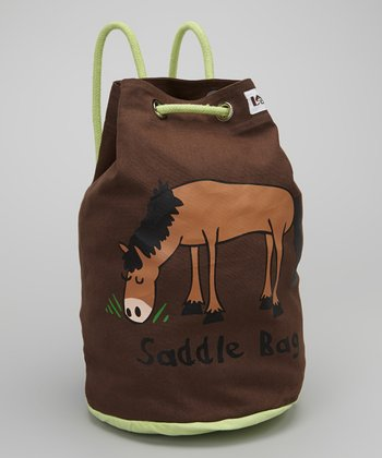 Brown 'Saddle Bag' Tote