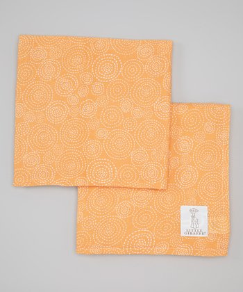 Marigold Muslin Swaddle Blanket - Set of Two