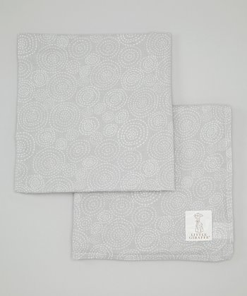 Silver Muslin Swaddle Blanket Set
