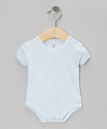 Blue Swirl Pocket Bodysuit