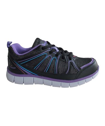 Black, Purple & Blue Sneaker