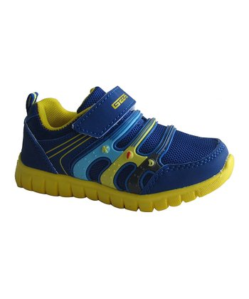 Blue & Yellow Sneaker
