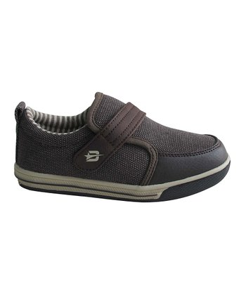 Dark Brown Canvas Sneaker