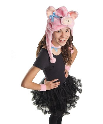 Pink Piglet Dress-Up Set