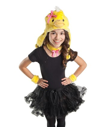 Yellow Little Duckling Dress-Up Set