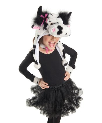White Spotted Cow Dress-Up Set