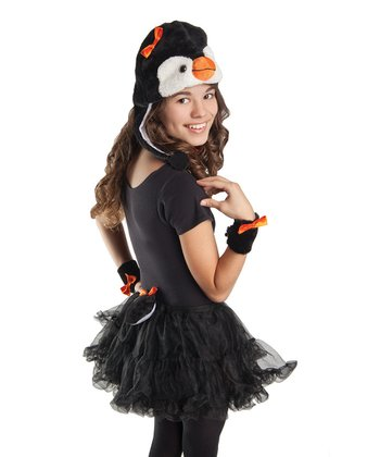 Black Arctic Penguin Dress-Up Set