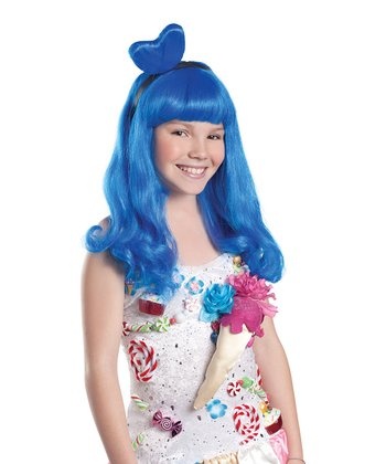 Blue Candy Girl Wig