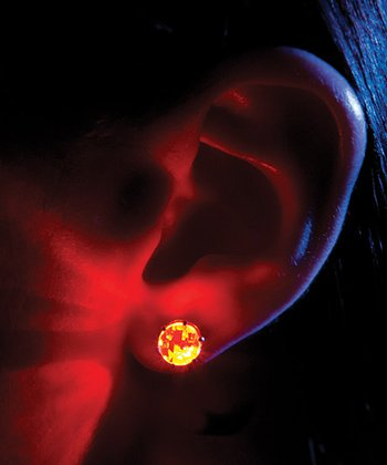 Red Light Up Earrings