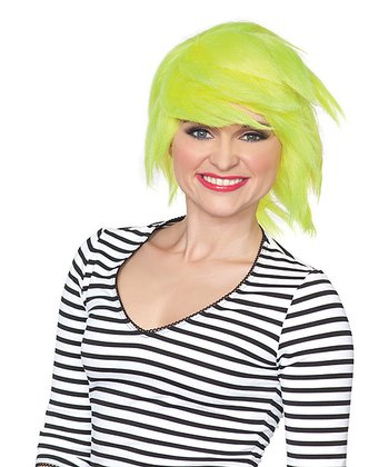 Neon Yellow Out of This World Wig