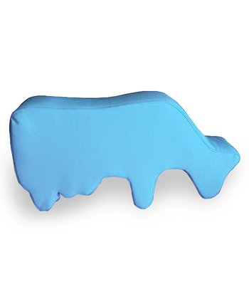 Blue Cow Floor Pillow