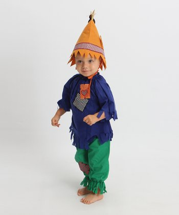 Green & Blue Scarecrow Dress-Up Set