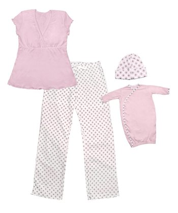 Pink Mommy and Me Gift Set - Kids & Women