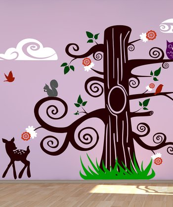 Fantasy Tree Wall Decal