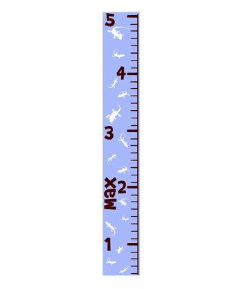 Blue Gecko Personalized Growth Chart