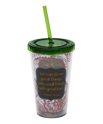 Mother Teresa Insulated 17-Oz. Tumbler