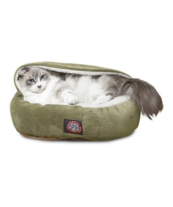 Sage Canopy Pet Bed