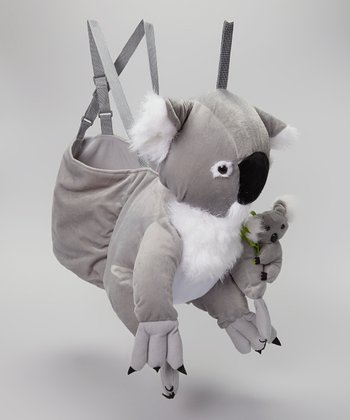 Gray Koala Bear Wrap & Ride Dress-Up Outfit