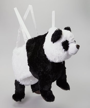 Black & White Panda Wrap & Ride Dress-Up Outfit