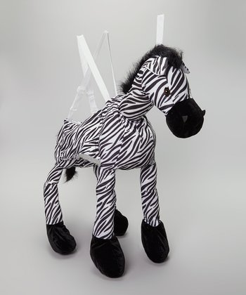Black & White Zebra Wrap & Ride Dress-Up Outfit