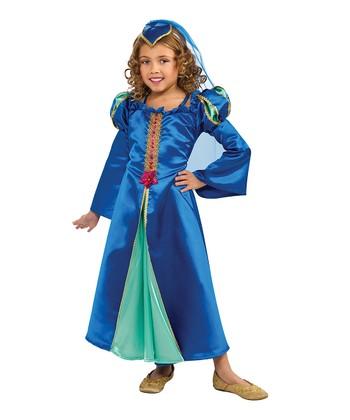 Rubie's Blue Renaissance Princess Dress-Up Set - Girls
