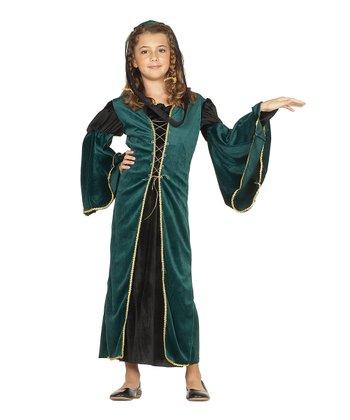 RG Costumes Green Juliet Dress-Up Set - Kids