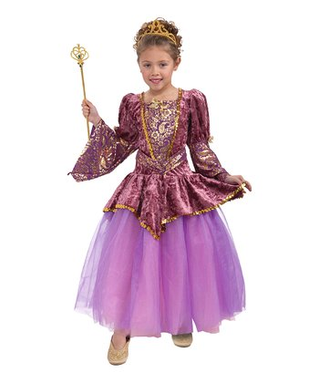 Plum Princess Dress - Girls