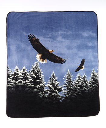 Blue Eagle Soft Touch Blanket