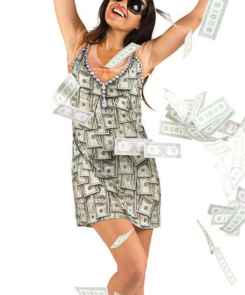 Green Sugar Mama Money Dress - Women