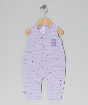 Purple Star Twinkle Romper - Infant
