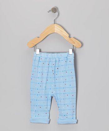 Blue Star Twinkle Pants - Infant