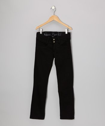 Black Skinny Jeans - Girls