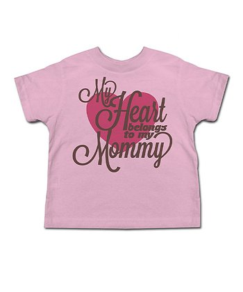 Light Pink 'My Heart Belongs' Tee - Toddler & Kids
